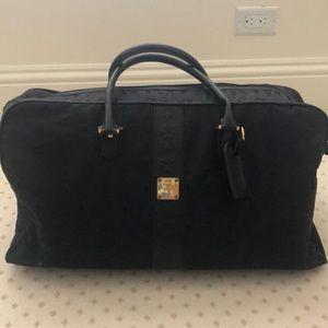 MCM black Duffle Bag